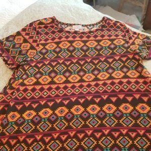 NWT LULAROE CARLY DRESS XL